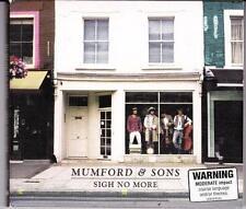 MUMFORD & SONS (OZ  CD '09) SIGH NO MORE - FOLD-OUT DIGIPAK