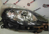 Renault Clio MK3 2009-2012 Drivers OSF Front Headlight Black Backing FACELIFT