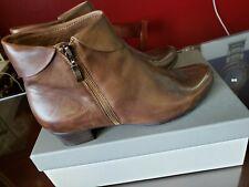 Spring Step Ladies Stockholm Brown Booties!!  Size 41  **9.5-10**