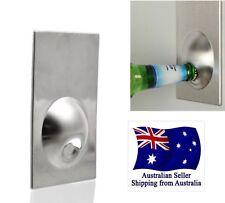 Magnetic Bottle Beer Opener Refrigerator Fridge Magnet Stainless Steel Home Bar