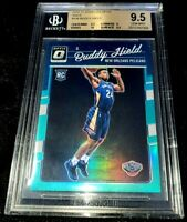 BUDDY HIELD 16-17 DONRUSS OPTIC AQUA HOLO PRIZM PARALLEL ROOKIE RC 15/25 BGS 9.5