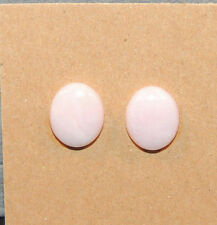 Peruvian Pink Andean Opal 9.5x11.5mm with 4mm dome Cabochon from Peru (11501)