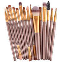 15 pcs/Sets Eye Shadow Foundation Eyebrow Lip Brush Makeup Brushes Tool Hot Sale