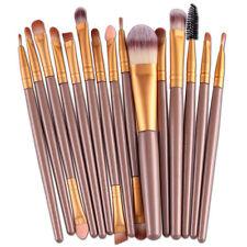 15 pcs/Sets Eye Shadow Foundation Eyebrow Lip Brush Makeup Brushes Tool Hot VA