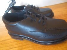 Toddler boy BLACK PATENT FAUX LEATHER FORMAL DRESS Shoes NWT 8 PARTY WEDDING