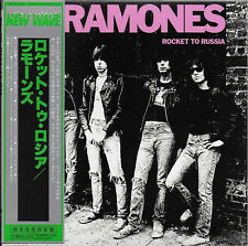 RAMONES - Rocket To Russia + 5 Bonus EX COND JAPANESE IMPORT Mini LP CD