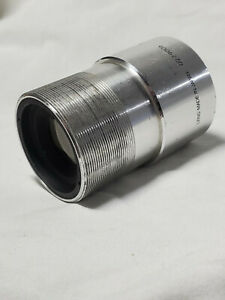 "Bell and Howell 16mm Cine Projector Lens  2.5 ""  Speed F1.5 Used"