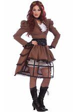 Industrial Steampunk Vicky Adult Costume Victorian Sci fi Halloween Fancy dress