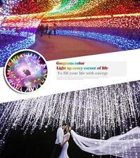 10M White LED Garland Bulb Xmas Halloween Wedding Fairy String Light Decor US