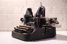 Antique Typewriter ~ Oliver No 9 - Extra Wide Carraige - Stylish Bat Wing Keys