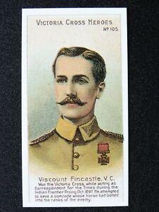 No.105 VISCOUNT FINCASTLE Victoria Cross Heroes Boer War REPRO by Taddy 1904