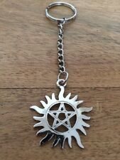 Supernatural - Anti-Possession Pentagram  - Keyring/Bag Charm