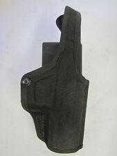 Bianchi Right Handed gun Duty holsters Black Nylon Size 16