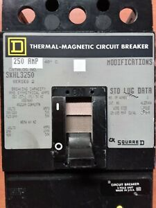 Circuit Breaker SKHL3250 Series 2 Thermal-Magnetic 250AMP Square D