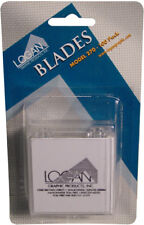 Logan Mat Cutter Blades, Pack of 100, Use With Logan Models 424-1, 301-1, 350-1
