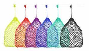 SUPER Slow Rope Hay Bag Net 1X1 Openings BLACK BLUE GREEN-TEAL ROYAL BLUE 24820