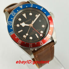 Corgeut/Sterile 41mm GMT Date Automatic Men's Casual Wristwatches Wrist Watches