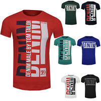 TOM TAILOR Denim T-Shirt hommes Basic inspiration Statement POITRINE print NEUF