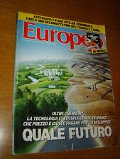 EUROPEO 1986/21=CARLO RUBBIA=MONIKA MANN=ROBERTO BORTOLUZZI=PIER LUIGI PIZZI=