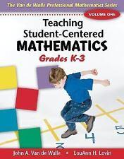 Teaching Student-Centered Mathematics: Grades K-3 by Van de Walle, John, Lovin,