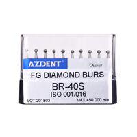 0.99$/kit 20Types Dental Diamond Bur Tips Set Drills Burs F High Speed Handpiece