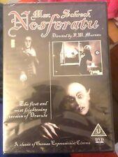 Nosferatu DVD Starring Max Schreck Brand New & Sealed.