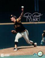 Randy Jones Signed 8X10 Photo Autograph San Diego Padres Silver Auto w/COA
