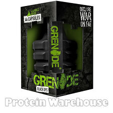 Grenade Thermo Black Ops 44 Capsules Fat Burner Weight Loss