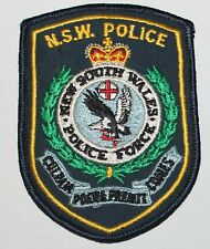 Old AUSTRALIAN POLICE AU PD Used Worn patch #80