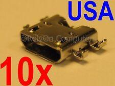 10x Micro USB Charging Port For Asus Google NEXUS 7 FHD 2nd Gen 2013 ME571K K008