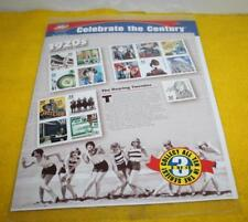 Celebrate The Century 1920:s Stamp Sheet New Sealed Item No. 5541