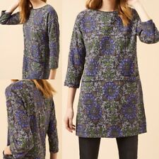 NEW RRP £55 Ex White Stuff Lyon Texture Jersey Tunic In Multi