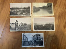 Lot of 5 Vintage Quantico Virginia Black and White Postcards