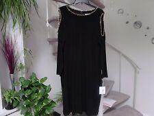 Calvin Klein Women's Cold Shoulder Black Dress. Plus Size 18W. NWT