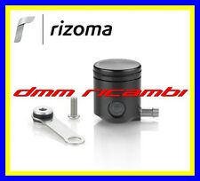 Serbatoio Olio Freno/Frizione Moto RIZOMA CT025 attacco laterale alluminio Nero