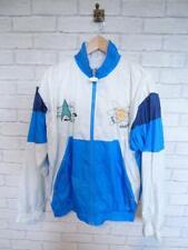 VTG Shell Suit Jacket Top Festival Tracksuit Windbreaker 80s/90s Medium #D5707