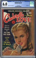 CINDERELLA LOVE #5  CGC 6.0 - HIGHEST CGC GRADE - BEAUTIFUL Covers  1951 RARE