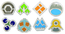 Pokemon Gym Badges: Gen 4 - Sinnoh League