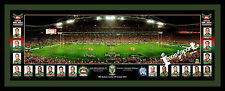 2014 South Sydney Rabbitohs Ground and Players Pano Framed
