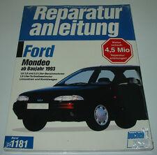 Reparaturanleitung Ford Mondeo Benzin + Diesel Limo + Kombi ab Baujahr 1993 NEU!