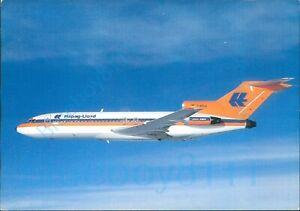 Hapag Lloyd Flug Boeing Jet 727 100 Printed Continental Size card