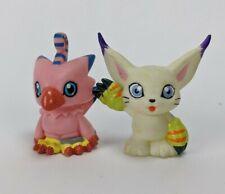 1996 Yutaka Digimon Piyomon Bird & cat Finger Puppet Figure