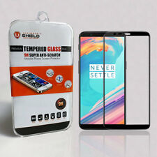 Ultimate Shield Tempered Glass Screen Protector for OnePlus 5t (black)