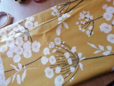 John Lewis Furnishing Fabric Corringe mustard cushions 19.5ins x 92 ins approx