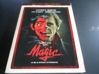 "COFFRET BLU-RAY ""MAGIC"" Anthony HOPKINS, Ann-Margret, Burgess MEREDITH - horreur"