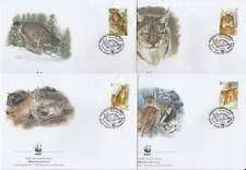 WWF 4 x FDC Belarus 2000 - Lynx (124)