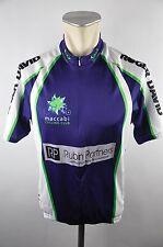 Ventou radtrikot maillot Cycle Jersey Maglia Taille L 56 cm Maccabi Club f01