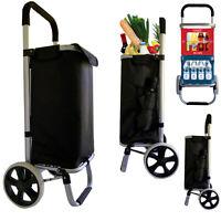 Einkaufstrolley Einkaufswagen Trolley Einkaufsroller Aluminium klappbar tasche