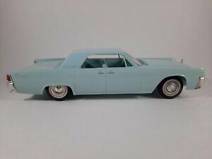 Vtg Blue 1961 Lincoln Continental Promo Plastic Car