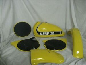 Yamaha Competition Yellow Vintage Motorcycle Paint - Aerosol - Pint - Quart
